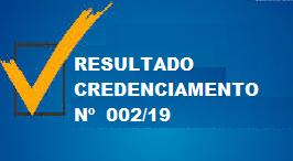 CLASSIFICAÇÃO CREDENCIAMENTO Nº 002/2019 – SAÚDE