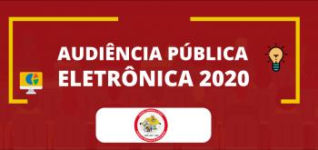 Audiência Pública Eletrônica LDO – Município de Palminópolis