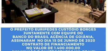 Prefeito Zezinho assina convênio com BB para construção de usina FOTOVOLTAICA;